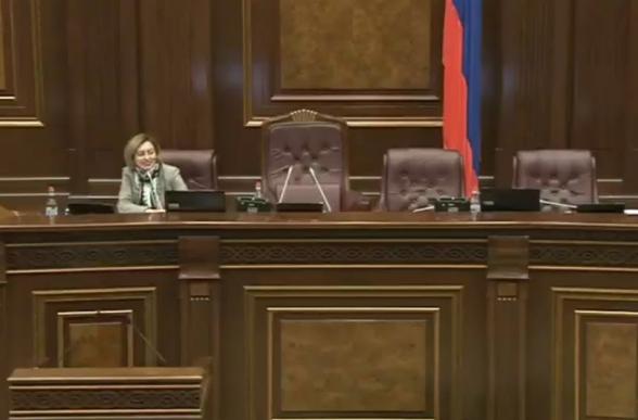 «Արփինե Հովհաննիսյան...». Լենա Նազարյանը շփոթվեց