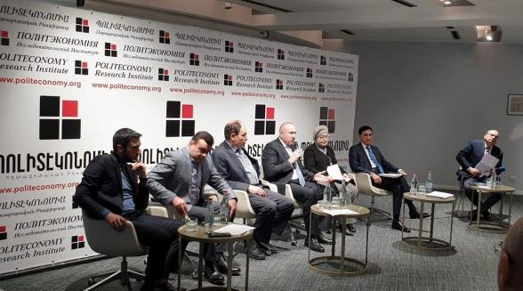 «Конституционная безопасность: вызовы и решения» – обсуждение в исследовательском институте «Политэкономия» (видео)