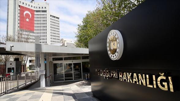 Թուրքիայի ԱԳՆ-ի արձագանքը Սիրիայի խորհրդարանի կողմից Հայոց ցեղասպանության ճանաչմանը