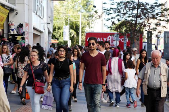 Թուրքիայում նվազել է իրենց երջանիկ համարող քաղաքացիների թիվը