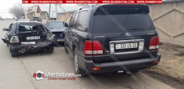 Արարատի մարզում բախվել են Lexus-ը, Volkswagen-ը, Opel-ն ու 07-ը. վիրավորների մեջ է ՀՀ նախկին վարչապետ Հովիկ Աբրահամյանի եղբայրը
