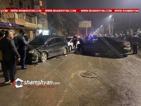 Կապանում բախվել են Nissan Bluebird-ը և Hyundai Santa Fe-ն. կա 1 զոհ,3 վիրավոր