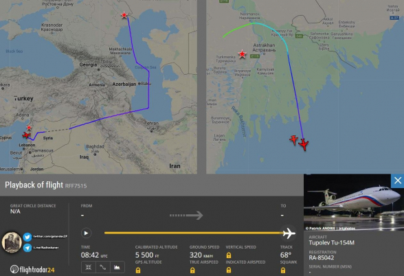 Թուրքիան փակել է իր օդային տարածքը ռուսական ռազմական ինքնաթիռների համար