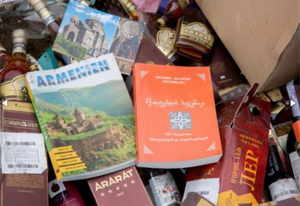 Ադրբեջանի մաքսատանը վրացերեն գրքեր են այրել