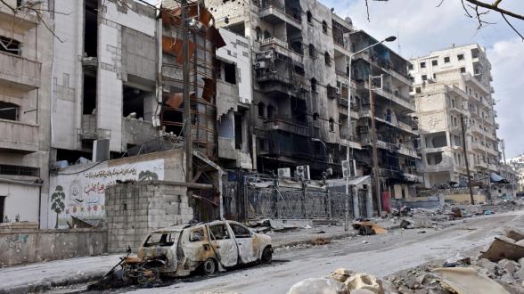 В Алеппо началось восстановление окраинных районов