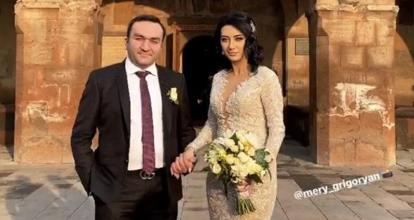 Венчание и свадебный танец Арпине Ованнисян