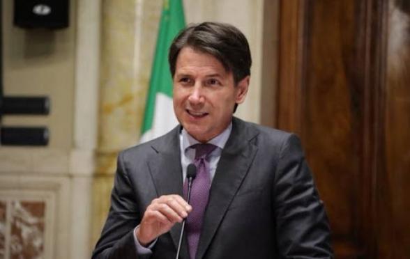 Իտալիան հայտնվել է «համազգային բնույթի արտակարգ իրավիճակում».. վարչապետ Կոնտե