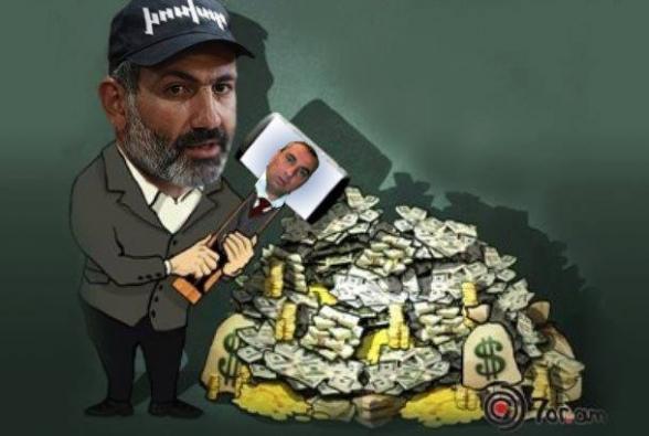 Деньги Никола Пашиняна: революционные чемоданы (видео)