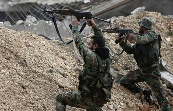 Сирийские войска выбили террористов из города Кафр-Нобуль в провинции Идлиб