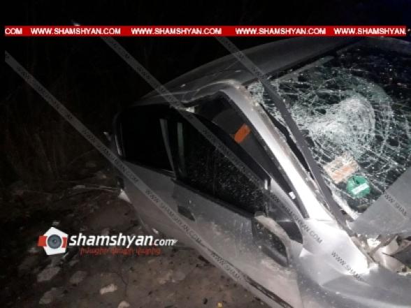Արարատի մարզում բախվել են Mercedes-ն ու Opel Astra-ն. կան վիրավորներ