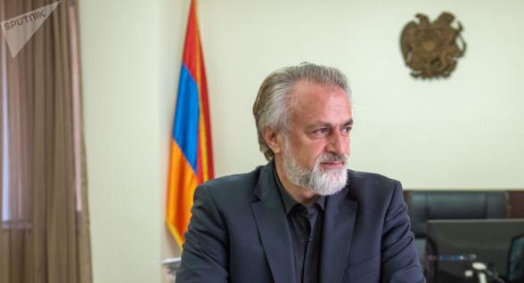Ваагн Вермишян снят с поста главы Комитета по градостроительству Армении