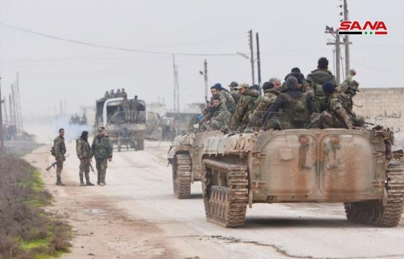 Сирийские войска выбили террористов из 16 населенных пунктов на юге Идлиба