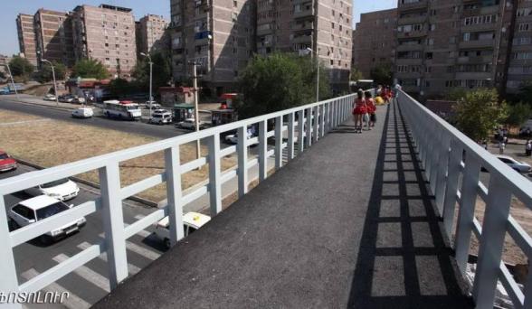 Երևանում կկառուցվի ևս մեկ վերգետնյա հետիոտնային անցում