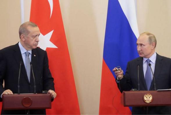 Էրդողանն առաջարկել է Պուտինին Թուրքիային Դամասկոսի հետ «դեմ-դիմաց» թողնել
