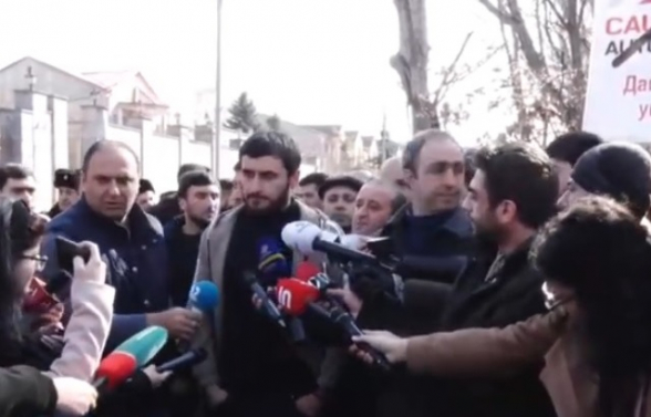 Ավտոներկրողների բողոքի ակցիան՝ ՀՀ–ում Վրաստանի դեսպանատան դիմաց (տեսանյութ)