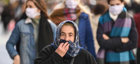 Թուրքիայում մարտի 25-ի դրությամբ կորոնավիրուսից մահացել է 59 մարդ. ermenihaber