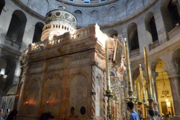 Երուսաղեմում կորոնավիրուսի ֆոնին փակվել է Տիրոջ Գերեզմանի տաճարը. Ria Novosti