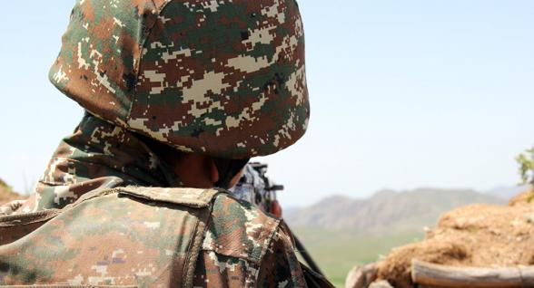 Армянский военнослужащий ранен на границе с Азербайджаном