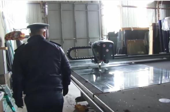 В Ереване директор стекольного цеха подвергся административной ответственности