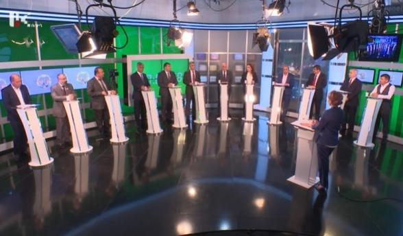 Արցախի նախագահի թեկնածուների հեռուստաբանավեճը (տեսանյութ)