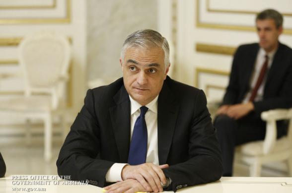 Пресс-конференция вице-премьера РА Мгера Григоряна (видео)