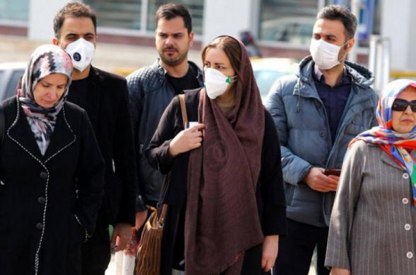Իրանում մեկ օրում կորոնավիրուսով վարակվածների թիվն ավելացել է 2 հազար 987-ով
