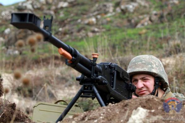 ВС Азербайджана за неделю нарушили режим прекращения огня свыше 170 раз