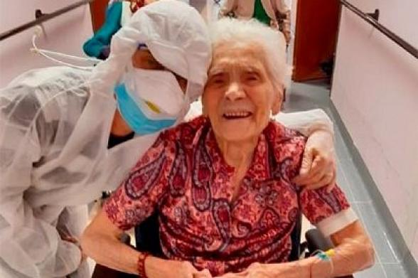 В Италии 104-летняя женщина излечилась от коронавируса