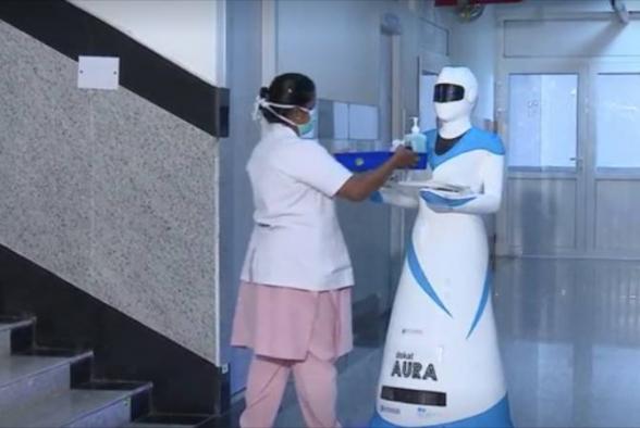 Հնդկաստանում ռոբոտ-բուժքույրերը շուտով կծառայեն կորոնավիրուսով վարակված անձանց