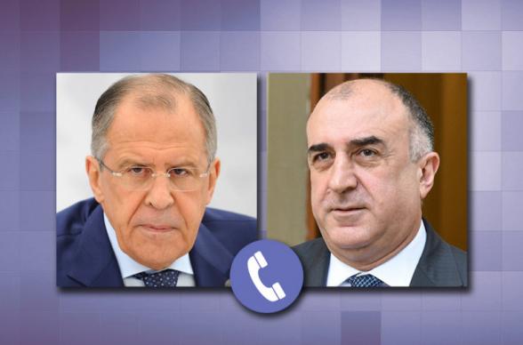 Լավրովն ու Մամեդյարովը հեռախոսազրույցի ընթացքում քննարկել են Ղարաբաղյան հակամարտության կարգավորման հարցը