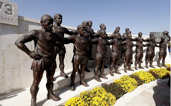 Գողացել են «Արարատ-73»-ի ֆուտբոլիստների արձանները (տեսանյութ)