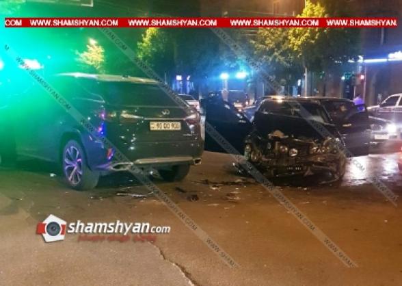 Լոռու մարզում բախվել են Lexus-ն ու Mercedes-ը