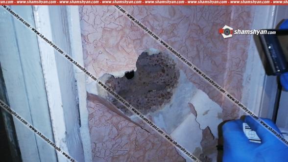 Կրակոցներ Վանաձորում. բնակարանում հայտնաբերվել է մետաղյա դետալ, իսկ բակում՝ կրակված պարկուճ