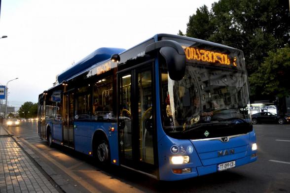В Грузии начинает работать общественный транспорт