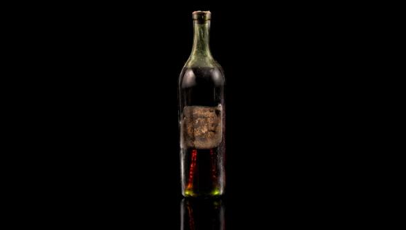 Бутылка коньяка возрастом 258 лет ушла с молотка за 150 тысяч долларов