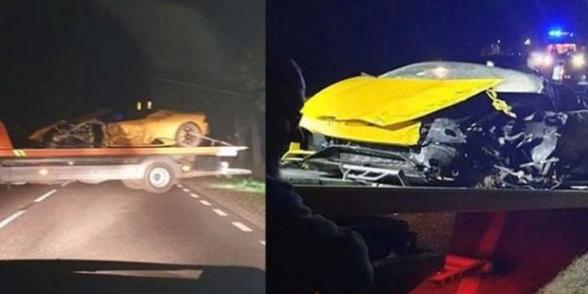 «Պարի Սեն-Ժերմենի» դարպասապահը ջարդուփշուր է արել իր Lamborghini-ին (լուսանկար)
