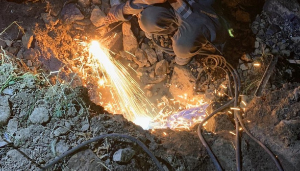 Շինաշխատանքներ կատարելիս վնասվել է Մերձավան գյուղը սնուցող ջրատարը, բնակավայրի ջրամատակարարման համակարգ են ներթափանցել կեղտաջրեր