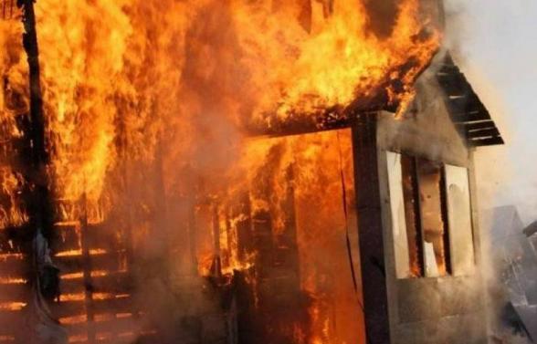 Հրդեհ վագոն-տնակում․ այրվել են փայտյա տնակի կառուցատարրերը