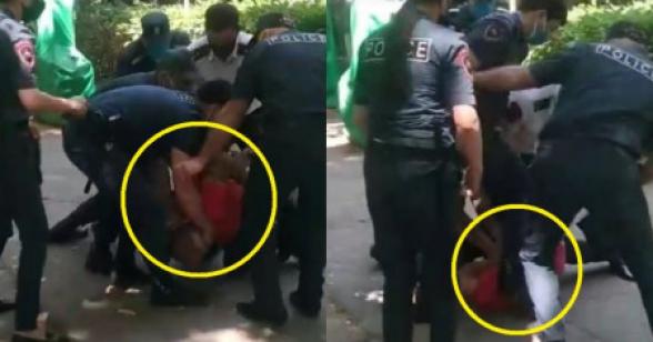 Տեսանյութ.Ոստիկանները «ասֆալտին են փռել» «դիմակային ռեժիմը» խախտողին․ Փաշինյանի արձագանքը