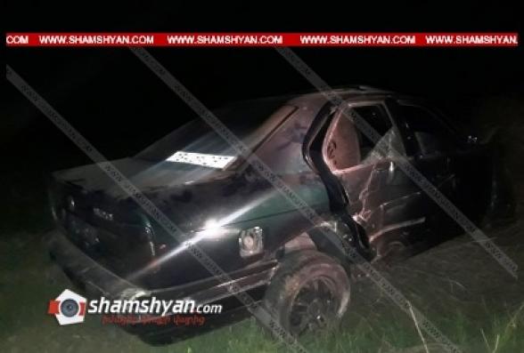 Արարատի մարզում բախվել են 27-ամյա վարորդի BMW-ն ու 57-ամյա վարորդի «06»-ը. կան տուժածներ