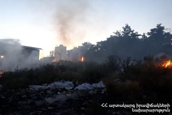 Հրշեջ-փրկարարները մարել են խոտածածկ տարածքներում բռնկված հրդեհները՝ ընդհանուր ընդգրկելով մոտ 3 հա տարածք