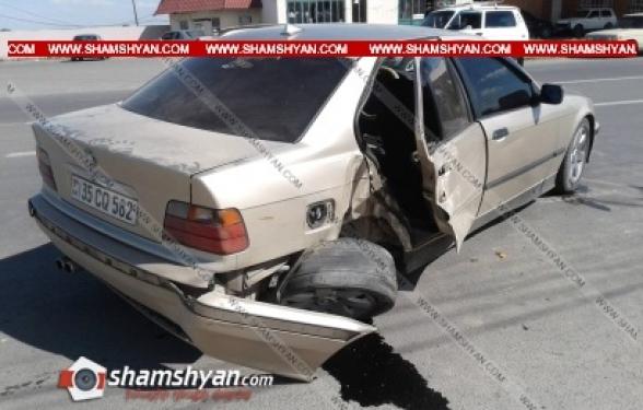 Արմավիրի մարզում բախվել են «Եվրոթերմ» ՓԲԸ-ի 71-ամյա տնօրենի Cadillac-ն ու 36-ամյա վարորդի BMW-ն․ կան վիրավորներ