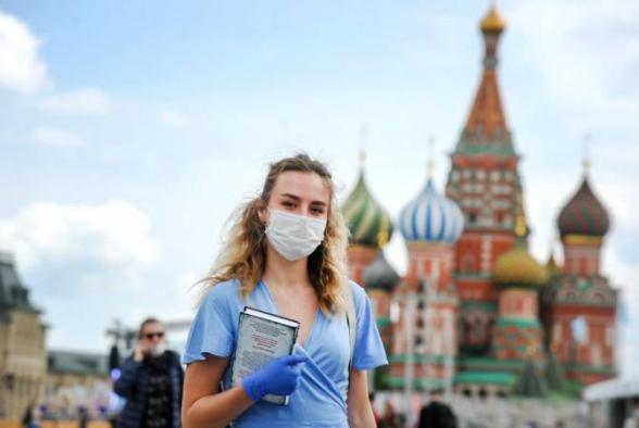 Ռուսաստանում վերջին օրերին վարակվածության նոր դեպքերի թիվը նվազում է. թարմ տվյալներ