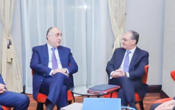 Տեղի է ունեցել Հայաստանի և Ադրբեջանի ԱԳ նախարարների տեսակոնֆերանսը
