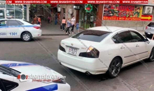 Երևանում 33-ամյա վարորդը Nissan-ով վրաերթի է ենթարկել հետիոտնին