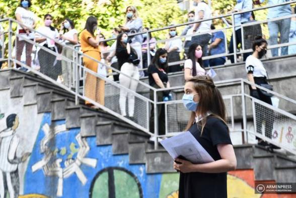 Հայաստանում մեկնարկել են միասնական քննությունները․ օտար լեզվի քննությանը մասնակցելու է 2102 դիմորդ (լուսանկար)