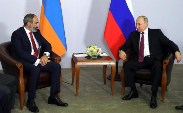 Նիկոլ Փաշինյանը շնորհավորական ուղերձ է հղել ՌԴ նախագահ Վլադիմիր Պուտինին