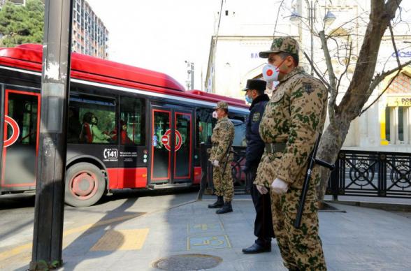 Կրկին խիստ կարանտինային ռեժիմ` Ադրբեջանում. ներգրավվել է նաև բանակը. փակվելու է նաև մետրոպոլիտենը