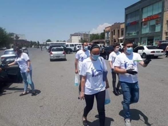 Միասին պայքարենք. ՀԱՍԱԿ-ը Երևանում, Մասիսում ու Արտաշատում 500 ալկոգել բաժանեց