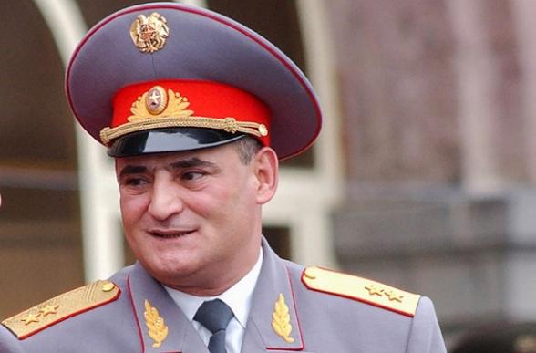 По делу о самоубийстве Айка Арутюняна допрошен генерал-лейтенант – СМИ